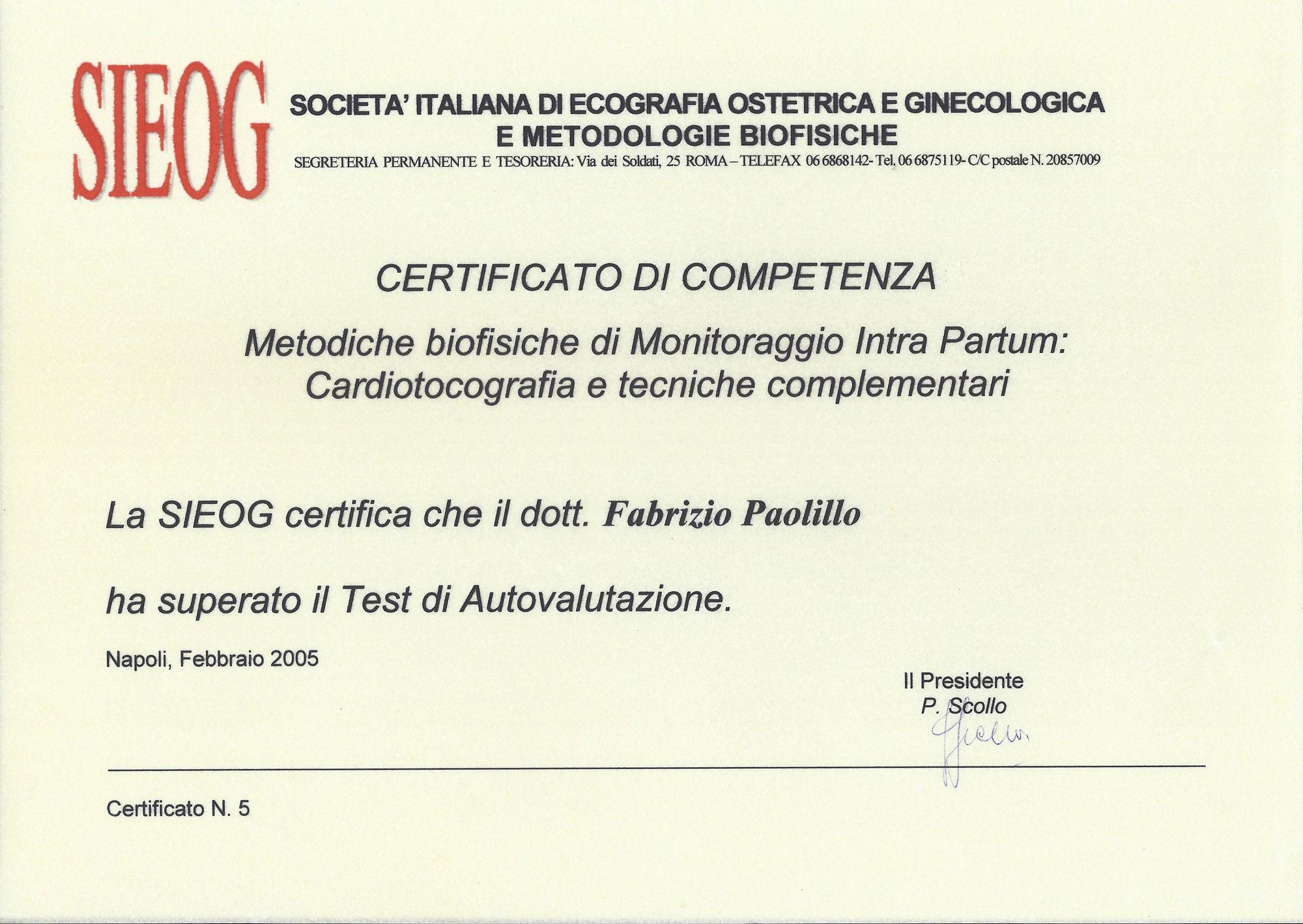 Metodiche Biofisiche di Monitoraggio Intra Partum - Cardiotografia e Tecniche Complementari