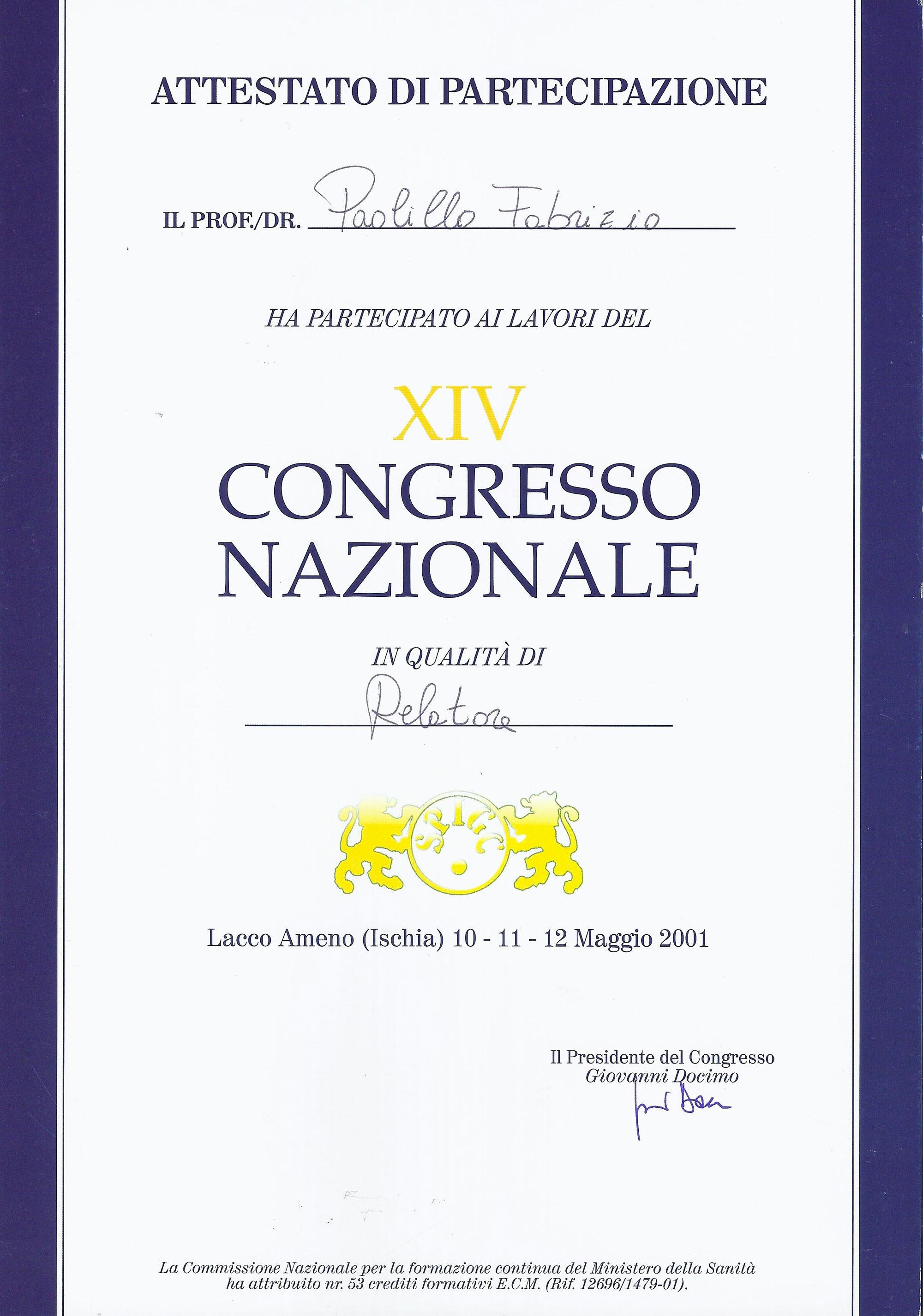 XIV Congresso Nazionale